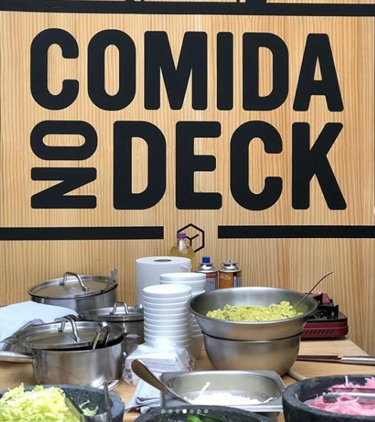 Comida de Deck
