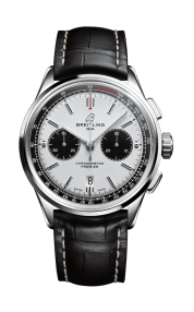 07_Premier_B01_Chronograph_42_with_silver_dial_and_black_alligator_leather_strap