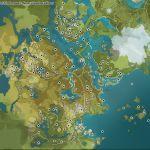 Genshin Imapct: mapa y lista de ubicaciones de Geoculus
