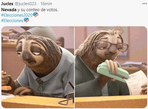 Memes del conteo de votos en NEVADA - Cuanto durara el conteo de votos?