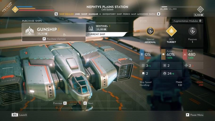 everspace-2-barcos-cañonero