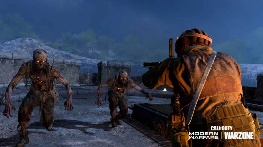 Zombies de Call of Duty Warzone