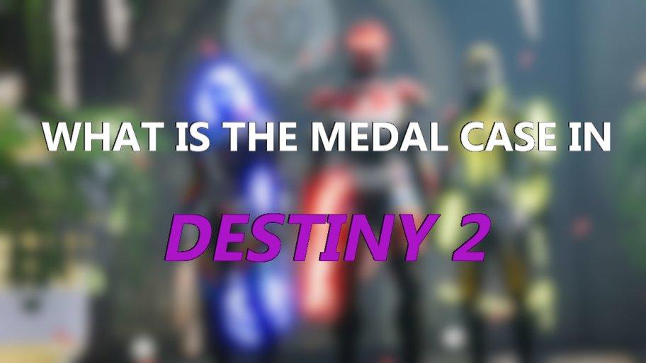 Estuche para medallas de Destiny 2 Guardian Games