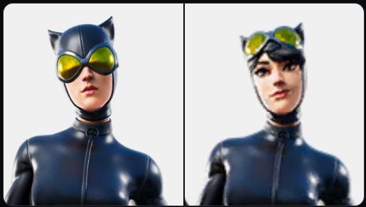 Variante de piel de Catwoman