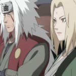 These were Tsunade's feelings for Jiraiya at the end of Naruto Shippuden.
