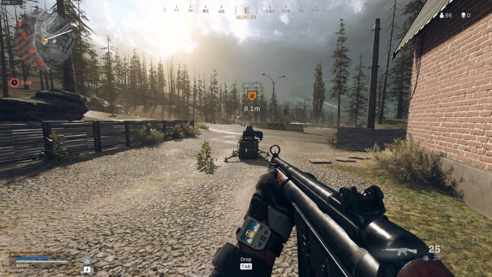 Estación de enlace ascendente de Call of Duty Warzone