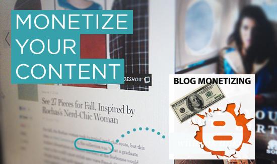 Content Blog Monetizing