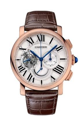 Cartier Rotonde Chronograph Tourbillon