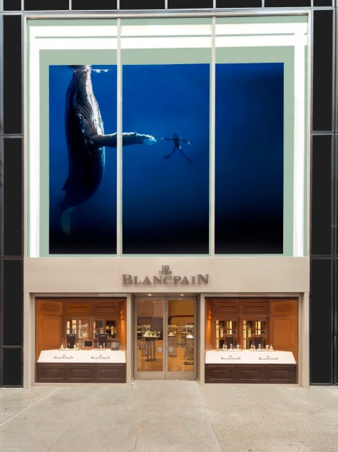 NYC Boutique Blancpain entrada