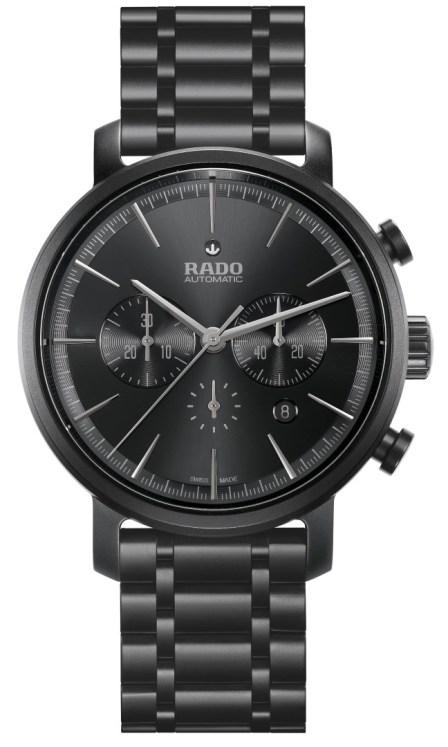 Rado DiaMaster Ceramic Automatic Chronograph Mate Negro