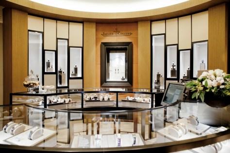 Boutique Jaeger-LeCoultre Madrid interior
