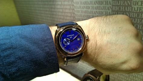 JEANRICHARD 1681 Blue Dial en oro rosa - 18.400 €