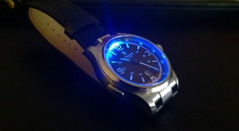 Victorinox Night Vision iluminado
