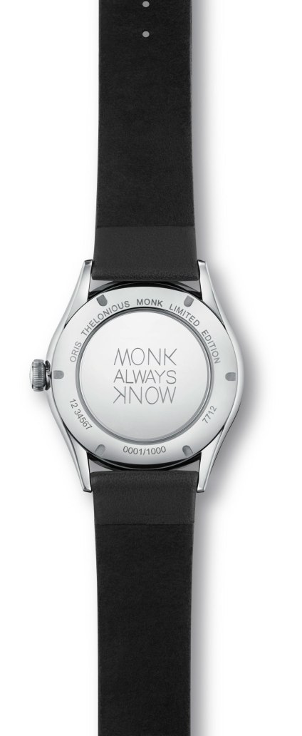 Oris Thelonious Monk Limited Edition reverso