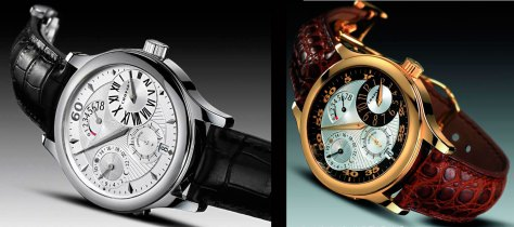 Chopard Quattro Regulator de 2004 y LUC 8 days Regulator de 2006