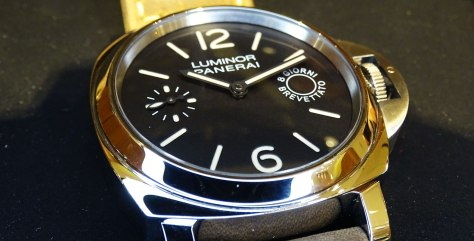 Panerai Luminor Marina 8 days - bisel