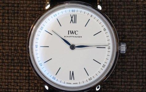IWC Portofino Hand-Wound Pure Classic acero