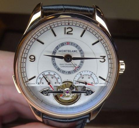 SIAR 2015 - Montblanc Heritage Chronométrie Exotourbillon