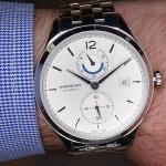 En la muñeca: Montblanc Heritage Chronométrie Dual Time