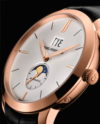Girard-Perregaux 1966 Large Date and Moon Phases oro rosa perfil