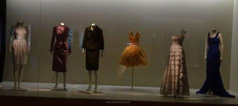 Museo del Traje - vestidos años 50