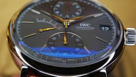 IWC Portofino Hand-Wound Monopusher Chronograph cristal