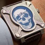 Nuevo Bell & Ross BR 01 Burning Skull: Fotos en vivo y precio