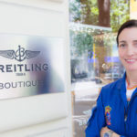 Breitling entrega su reloj a Rosa García, primera mujer en la Patrulla Águila