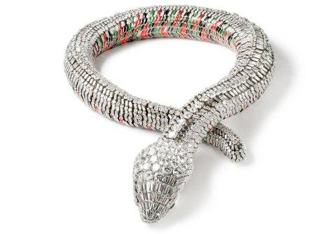 Collar Serpiente Cartier Paris, pedido especial, 1968 María Félix