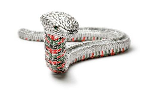Collar Serpiente alzado, Cartier Paris, pedido especial, 1968 de María Félix