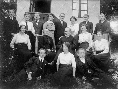 La familia de George Edouard Piaget en los años 20