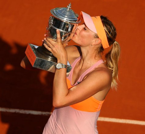 Maria Sharapova TAG Heuer Carrea Calibre 9