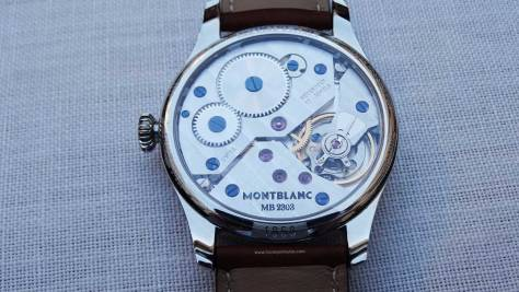Montblanc 1858 Small Second calibre 2303 frontal