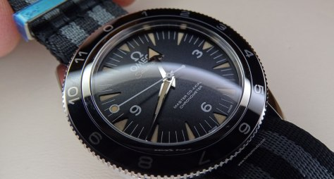OMEGA Seamaster 300 Spectre Limited Edition perfil
