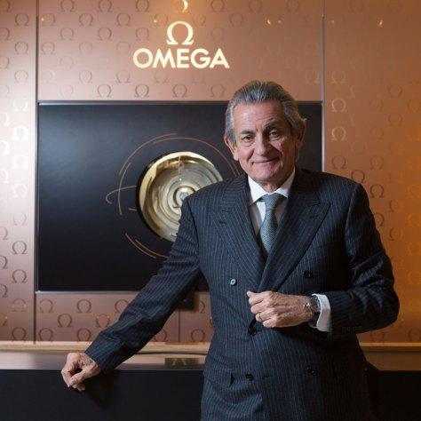 Stephen Urquhart en la presentación del Globemaster en Madrid