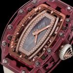 Nuevo Pink Lady Sapphire: Richard Mille en femenino