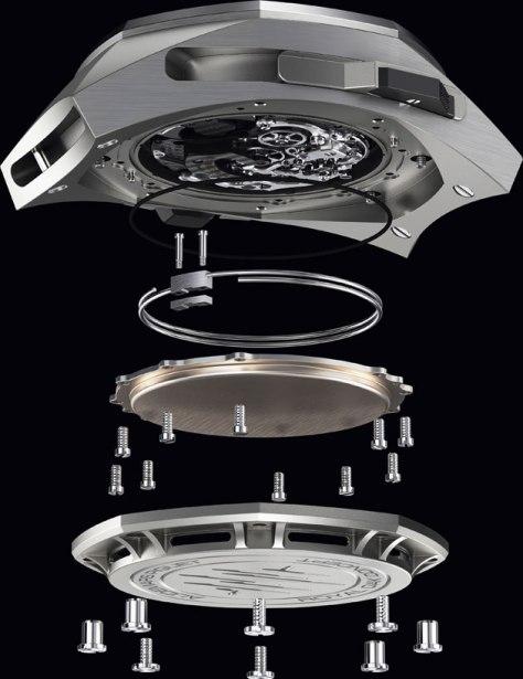 SIHH-2016-Audemars-Piguet-Royal-Oak-Concept-Supersonnerie-exploded-view-Horas-y-Minutos
