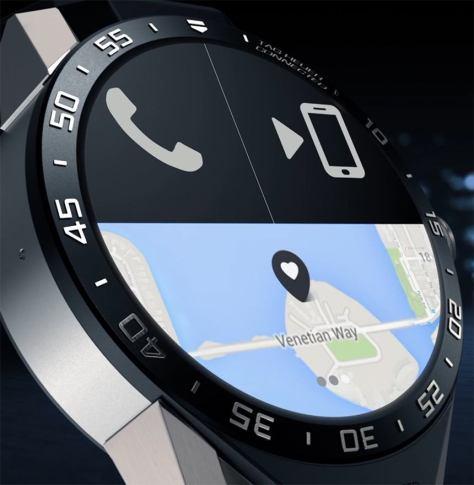 TAG Heuer Connected Watch llamada