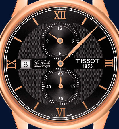 Tissot-Pre-Basel-2016-Le-Locle-Regulateur-esfera-Horas-y-Minutos