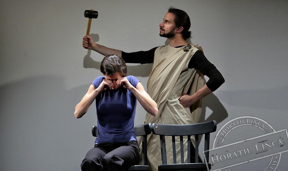 teatru – necuvinte – 03 Adrian Nour, Toni Dumitrescu si Ana Pepine copyright Horatiu Linca