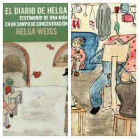 El diario de Helga:  testimonio de una niña en un campo de concentración