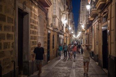 NIght Streets, Cadiz