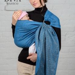 Zaffiro karikás kendő DIVA Basico-Hordozótár