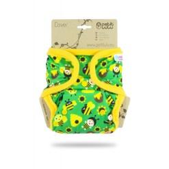 Petit Lulu egyméretes patentos pelenkakülső Yellow Bees