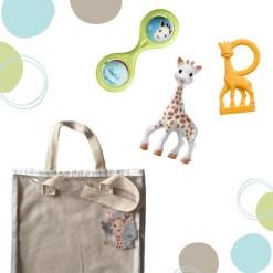 Sophie La Girafe ajándék szett