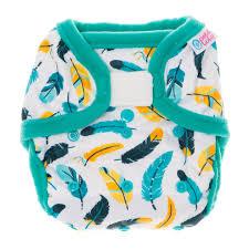 Petit Lulu SIO mosható pelenka Turquoise Feathers