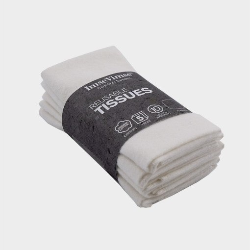 Textil zsebkendő szett natúr-Imsevimse