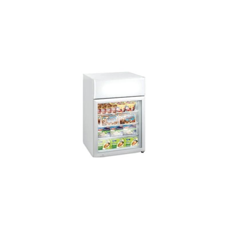 mini vitrine refrigeree de comptoir froid negatif 12 24 c 113 litres
