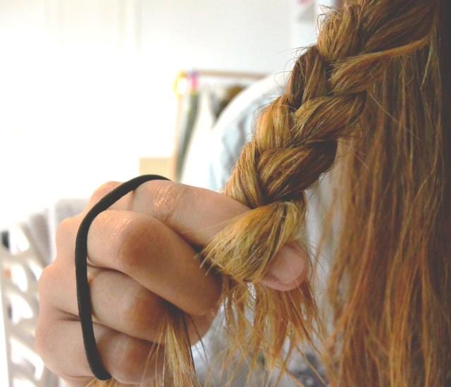 Tressage des cheveux