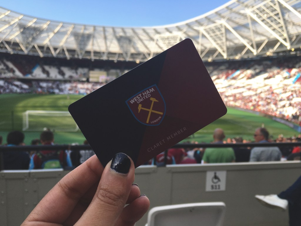 Abonnement west ham united